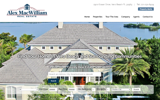 Alex MacWilliam Real Estate. This link opens new window.