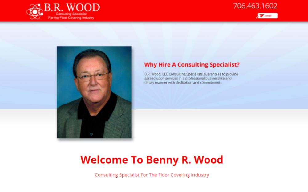 New Websites for Benny Wood