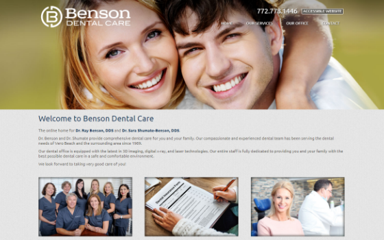 Benson Dental Vero Beach. Opens new window.