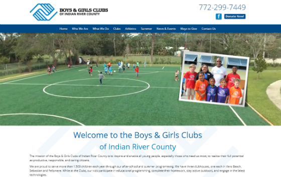 Boys and Girls Club of Indian River County. This link opens new window.