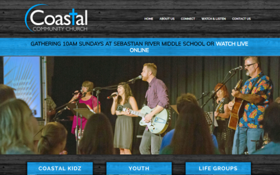 Visit the website for Coastal Community Church. This link opens new window.