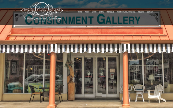 Consignment Gallery. This link opens new window.