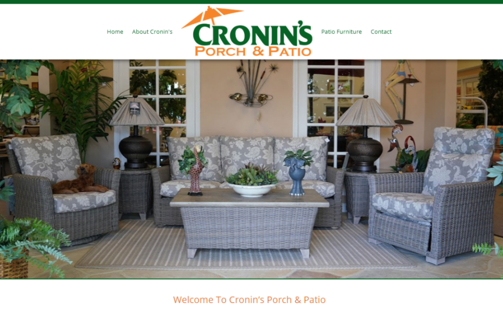Cronin's Porch and Patio