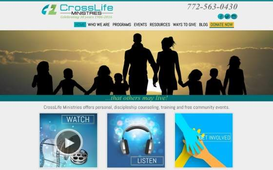 Cross Life Ministries. This link opens new window.