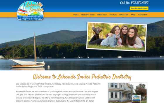 Visit Lakeside Smiles. This link opens new window.