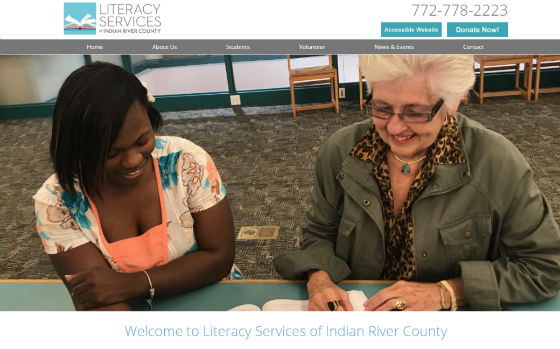 Visit Literacy Services of Indian River County. Opens new window.