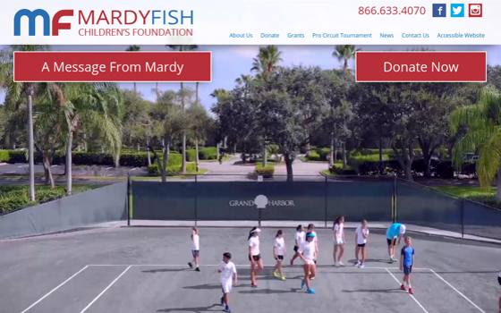 Mardy Fish Children's Foundation. Opens new window.