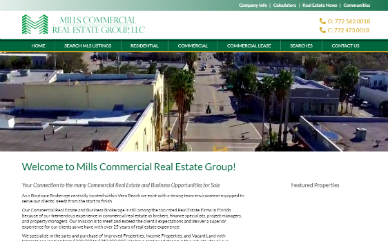 Visit Mills Commercial Real Estate Group. This link opens new website.