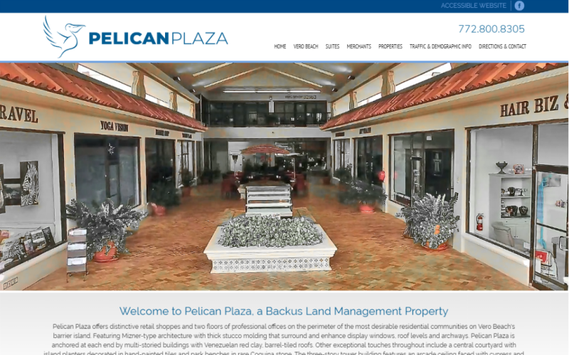 Visit Pelican Plaza.com. This link opens new window.