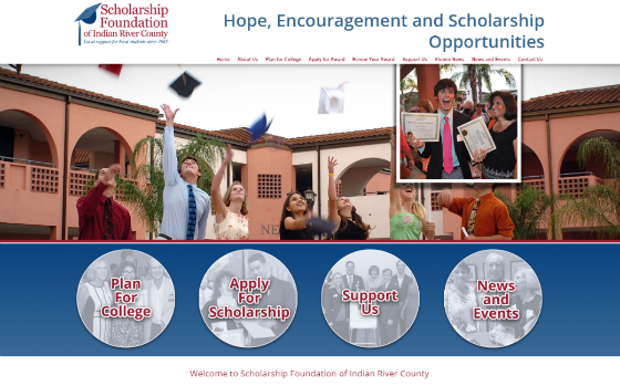 Visit the Scholarship Foundation of Indian River County. This link opens new window.