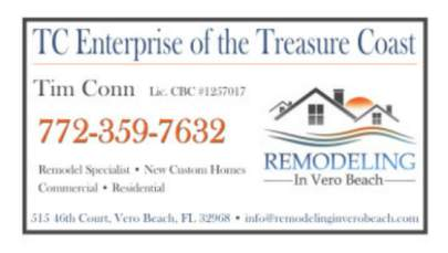 TC Enterprise of the Treasure Coast Business Card