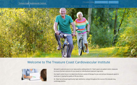 Treasure Coast Cardio. Opens new window.
